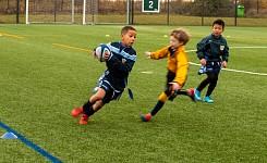U8 Rugby vs Beachborough School