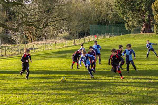 The Grove U8 Football vs Quinton House School