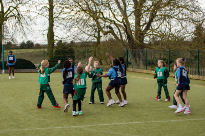 Akeley Wood U8 Netball Triangular