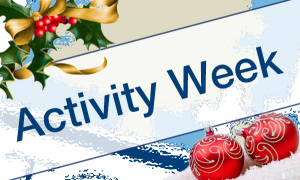 Christmas Activity Week