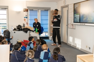 Paralympian Alistair Patrick-Heselton Revisits The Grove