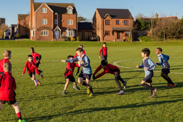 The Grove U9 Rugby vs Broughton Manor