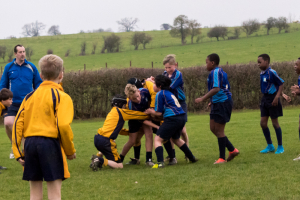 The Grove U11 Rugby vs Beachborough School