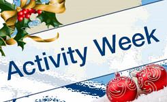 Christmas Activity Week