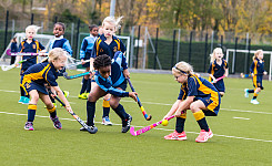 The Grove U8 & U9 Hockey vs Beachborough School