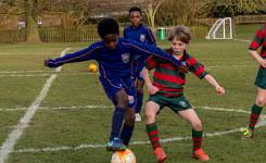 Akeley Wood School U11 Football Triangular